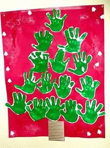 Pinterest Sapin De Noel : sapin de no l avec les empreintes des mains noel pinterest no l ~ Preciouscoupons.com Idées de Décoration