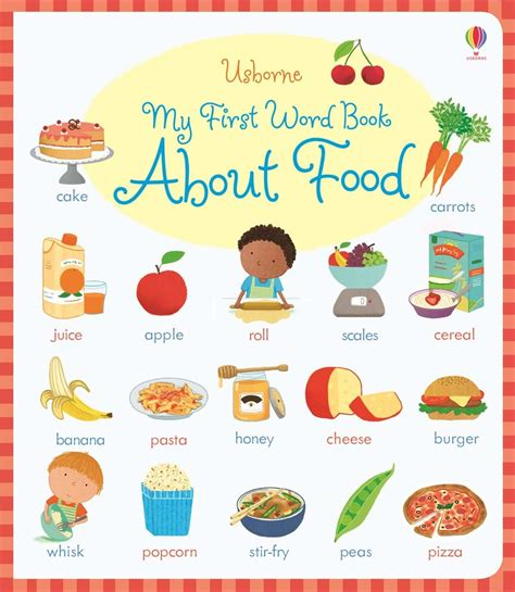 phrase cuisine my word book about food at usborne books at home