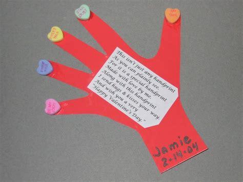 handprint amp thumbprint valentines ideas handprint 677 | Val 252520Hand