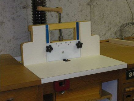 horizontal router table plans   woodworking