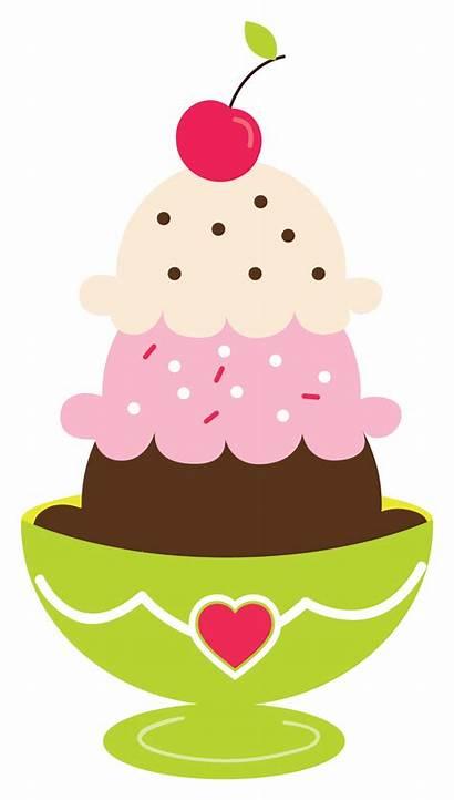 Clipart Cake Fractions Sundae Cream Ice Transparent