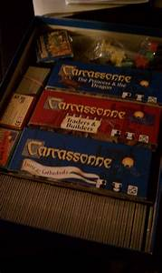 Storage - Condensing Carcassonne  U0026 Expansions Into A Single Box