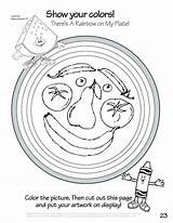 Coloring Meal Pages Plate Seder Sheet Getcolorings Printable Getdrawings sketch template