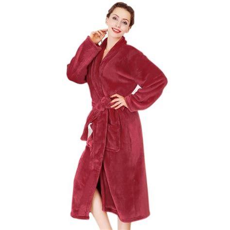 robe de chambre hiver peignoir femme grande taille peignoir de bain femme