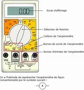 Amperemetre En Serie : cours de physique chimie mesure de l 39 intensit du ~ Premium-room.com Idées de Décoration