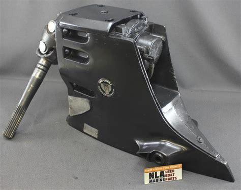omc cobra upper gearcase sterndrive gm    ford