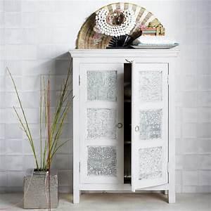 Maison Du Monde Vitrine : armoire en manguier massif blanche et udaipur blog inde et armoires ~ Teatrodelosmanantiales.com Idées de Décoration