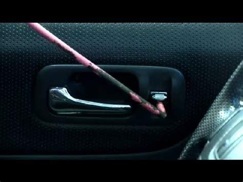 how to unlock a car door tricks to unlocking a power door when you lock the in