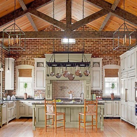 Brick Kitchen Ideas - the 25 best kitchens with brick walls ideas on exposed brick kitchen family room