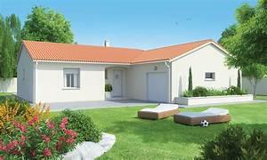 Maison Plain Pied En L : maison arkoze plain pied configuration l logivelay ~ Melissatoandfro.com Idées de Décoration