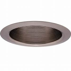 Quot brushed nickel baffle recessed trim at menards?