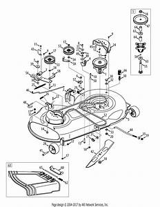 Yardman 42 Inch Deck Belt Diagram