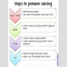 Problem Solving Start To Finish  Counselor  School Social Work, Counseling Activities, Problem