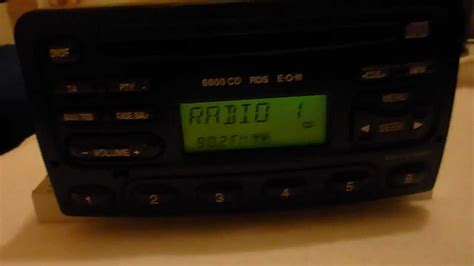 ford 6000 cd ford focus 6000 cd rds eon cd changer