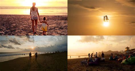 pantai batu belig kerobokan lokasi melihat sunset