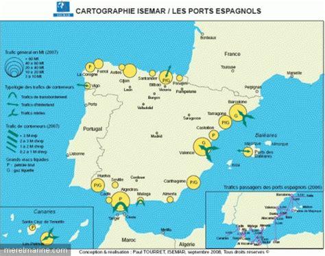 chambre du commerce et d industrie analyse l 39 espagne maritime et portuaire mer et marine