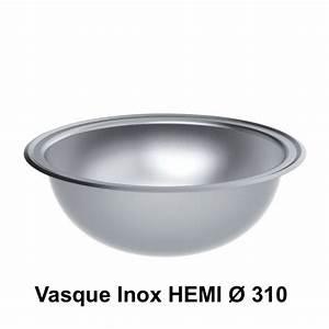 Vasque à Encastrer : vasques inox vasque encastrer inox hemi 310 mm delabie ~ Edinachiropracticcenter.com Idées de Décoration
