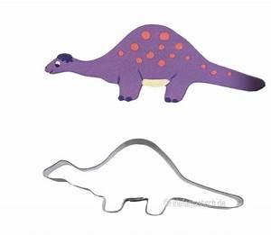 Keksausst Dino Brontosaurus Kindergeburtstag Dinokuchen