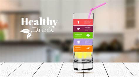 healthy drink prezi  template creatoz