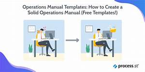 Operations Manual Templates  How To Create A Solid