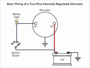 Denso One Wire Alternator Wiring Diagram   Denso