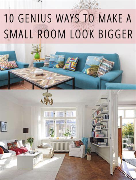 10 genius ways to make a small room look bigger babble