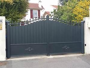 Portail 4 Metres Brico Depot : portail aluminium battant ~ Dailycaller-alerts.com Idées de Décoration
