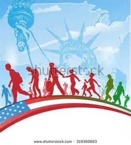 American Immigration Clip Art
