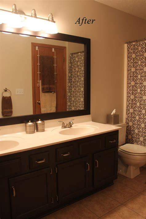 honey oak trim stain  paint painting bathroom