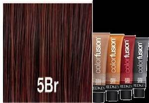 Rose Gold Hair Colour Chart Redken Color Fusion 5br Brown Red Hair Pinterest