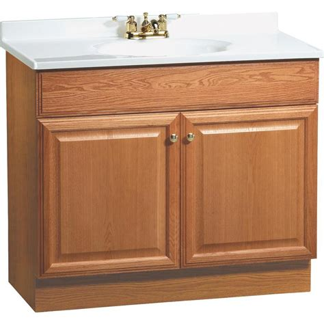 37 vanity top with integrated sink shop project source golden integrated single sink bathroom