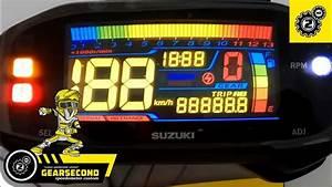 Tutorial Modifikasi Speedometer Suzuki Satria Fu Fi    Gsx