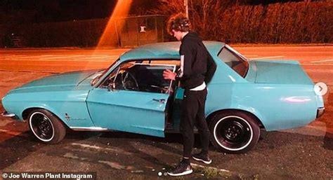 Emmerdale's Joe Warren Plant, 16, Splashes Out On A Blue