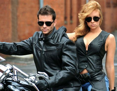 Different Ways Of Wearing Biker Vest @ Motorcycle Blog