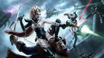 Dark Eldar 40k Warhammer Female Wych Wallpapers