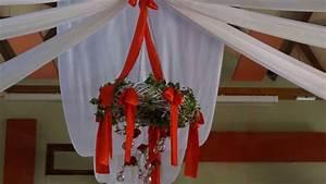 decoration de mariage glamour en rouge blanc et argent With deco chambre rouge et blanc