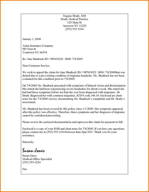 medical billing appeal letter format sample travel bill