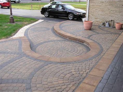 Swirl Brick Paver Design By Lehner Masonry