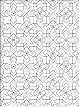 Dover Vakjes Kleine Kleurplaten Kleurplaat Disegnati Colorier Malvorlagen Chimeres Doverpublications Geometrische Thérapie Zentangle Mosaic Geometrici Adulte Ian Bodol sketch template