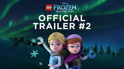 lego disney frozen northern lights official trailer