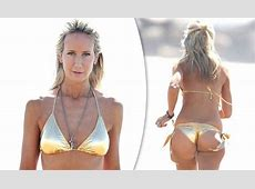 Lady Victoria Hervey exposes her pert posterior in Bond