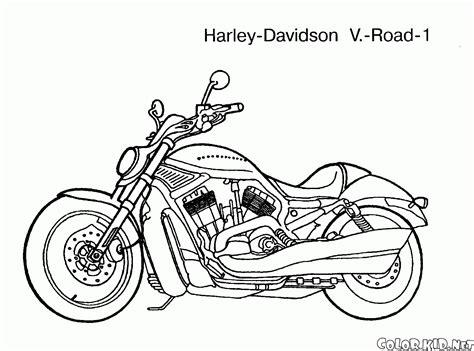 disegni da colorare motociclette