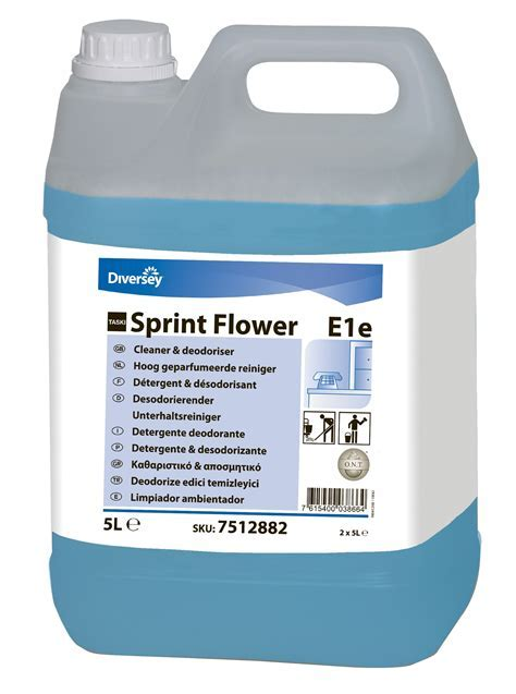 Taski flower sprint cleaning Air freshener E1e 2X5L