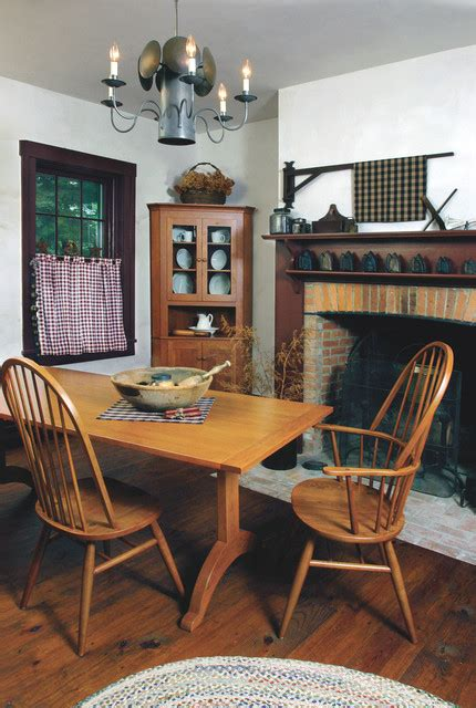 Shakerstyle Cherry Dining Furniture  Farmhouse Dining