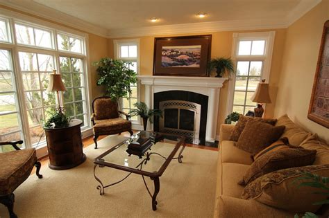 Living Room Fireplace In Tv Cabinets Wooden Table Design