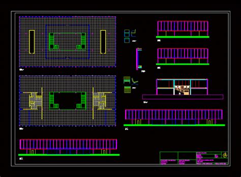 Mies Van Der Rohe; Bacardi Offices Dwg Block For Autocad