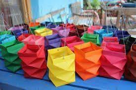 die besten 17 ideen zu laternen basteln vorlagen kostenlos With französischer balkon mit origami sonnenschirm faltanleitung