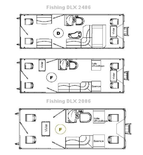 Fishing Boat Layout Ideas by Bateau Ponton Pour La P 234 Che En Aluminium