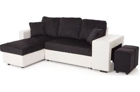 sofactory canapé canapé d 39 angle en eucalyptus bicolore convertible et