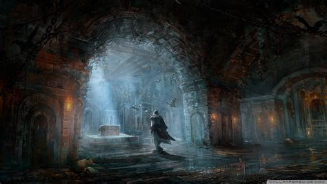 Assassin's Creed Painting 4k Hd Desktop Wallpaper For 4k
